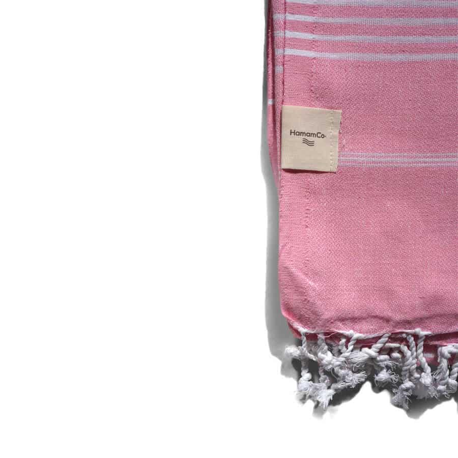 rosa handduk