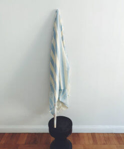Antibes - Blå hamam handduk 🍉