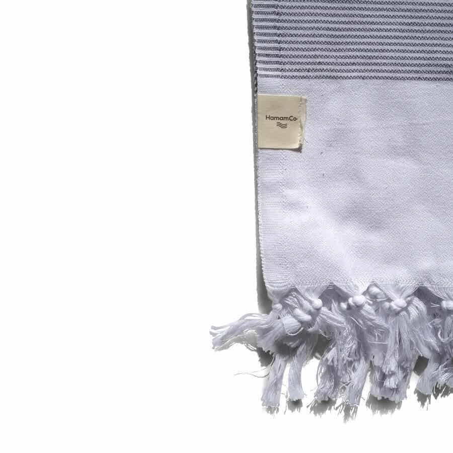 hamamco hamam-handduk grå
