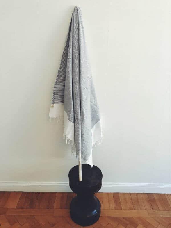 hamam handduk grå capri