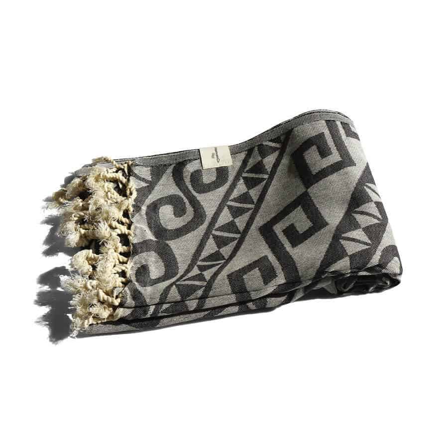Hamam-handduk svart