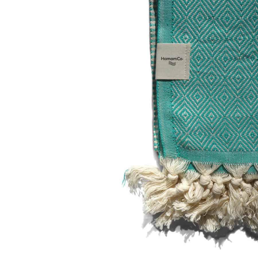 hamam-handduk grön