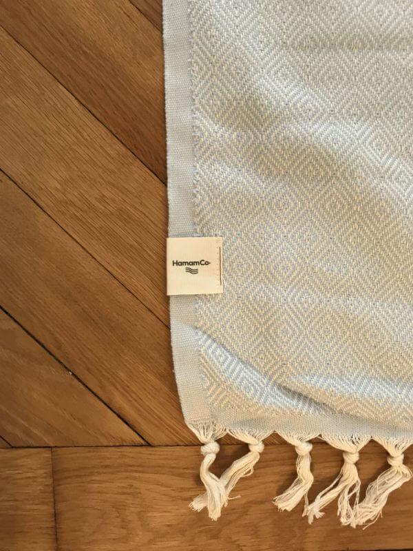 Pool – Blå hamam handduk