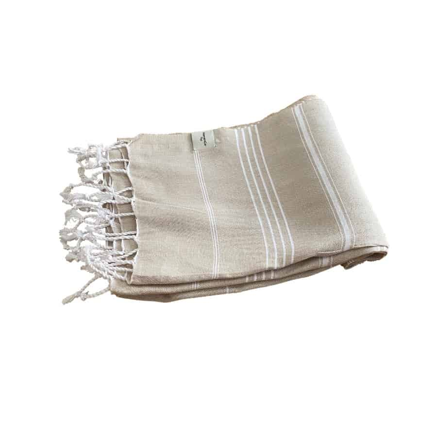 Beige Hamam Handduk